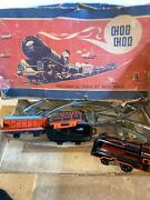 Vintage Marx Kramer New York Wind-up Toy Train Set With Track Rare Collectible