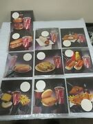 Vtg 1970and039s 8 X 8 Coca Cola Cards Spot For Prices Double Sided