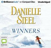 Winners By Danielle Steel English Compact Disc Book Free Shipping