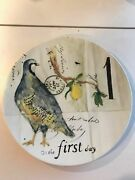 Williams - Sonoma 12 Days Of Christmas Salad Plate 1- 12 You Pick The Day