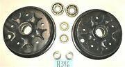 Used Oem . And03949 - And03955 Mgtd Mgtf Front Hubs Drums And Bearings / Disc Wheels H346