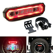 Universal Fit Clear Lens Rear Facing 5-in-1 Red/white Led Chase Light Kit