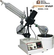 Rotary Vacuum Evaporator With Glass Parts And Without Vacuum Pump And Chiller