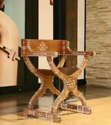 Heritage Chair Spanish / Mediterranean / Andalusian / Moroccan Inlaid Chair