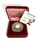 Tdl Fine Gold Collection No.54 Super Valuables1990s24k Gold Coin 3g 050/as