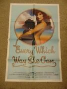 Every Which Way She Can 1981 Loni Sanders Serena 27x41 Poster N8101