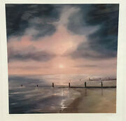 Rob Ford - Moonlit Shore - Mounted Limited Edition Print