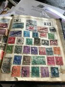 Collection Of Old Us Stamps 1860s - 1912 103 Stamps Used, Many More Countries