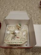 Lenox China Holiday Elf And Rocking Horse Teapot New In Box