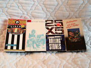 Rolling Stones 4 Vhs Lot 25x5 Circus Let's Spend The Night Together Live Concert