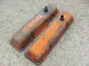 Original 69 70 Camaro Nova 350 Valve Covers Pair Survivor 1969 1970 Small Block