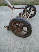 Push Mower, Reel, Really Old Quality