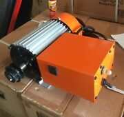 New Pro Heavy Duty 2 1/2 Hp Tile Saw Motor With 110v Water Pump Socket