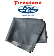 30and039 X 15and039 45 Mil Firestone Brand Epdm Koi Pond And Water Feature Liner +warranty