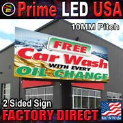 Led Sign P10 Full Color Indoor/outdoor Dip 10mm Wifi Led 25 X 57