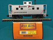 Mth Caboose Southern Pacific Railking O/o27 Sp Caboose 30-77140