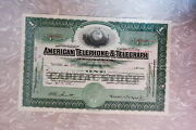 Collection Of 27 Pristine Early To Mid-20th Century Stock And Bond Certificates