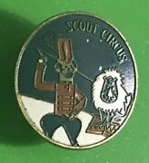 Vintage Boy Scouts Of America Scout Circus Holder Scarf/neckerchief Slide 50/60s