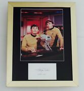George Takei Autographed 8x10 Photo Display Framed And Matted - Star Trek