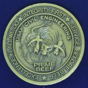 Usaf 86th Civil Engineering Squadron Prime Beef Challenge Coin Ef