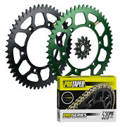 Pro Taper Sprockets And Pro Forged O-ring Chain Kit For 1987-2007 Kawasaki Kx250
