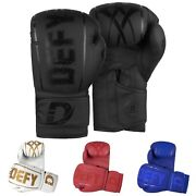 Defyandreg Synthetic Leather Boxing Glove Thai Training Punching Bag Sparring Gloves