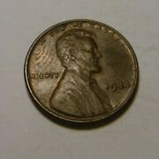 Extra Nice Circulated Lincoln Head Wheat Penny Cent 1944 Plain Coin Pennies