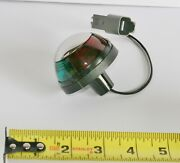 Navigation Light Red Green Round Deck Mount Bow 2-3/8 Attwood 5045-7 Bulb Boat