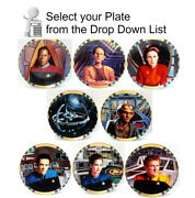 Vintage Star Trekdeep Space 9 Plate Collection--your Choice Of 8 Or Full Set