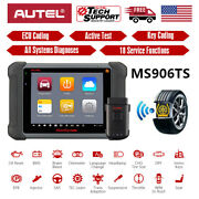 2021 Autel Ms906ts Maxisys Diagnostic System With Comprehensive Tpms Module
