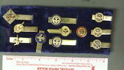 Boy Scout Collection Of Exec Tie Bars 0342ii