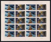 Space Firsts Mercury Project And Messenger Mission Sheet Of 20 Stamps Scott 4527