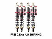 Elka Stage 3 Front And Rear Shocks Suspension Kit Grizzly 450 Irs