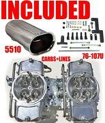 Demon Mad-650-b2 650 Cfm Gas Blower Supercharger Carbs With Lines Linkage Combo