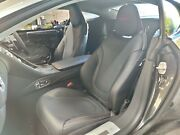 2017 Aston Martin Db11 Passenger Side Front Leather Interior Seat Red Stitching