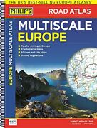 Philipand039s Multiscale Europe Spiral A3 Road Atlas Europe By Philipand039s Maps Book