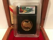 2005 South Africa Gold Proof Krugerrand 1/2 Oz Coin W/ Box And Coa Dfp 65 2/24