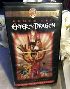 Enter The Dragon Vhs 1998 Widescreen 25th Anniversary Edition Bruce Lee Vhs