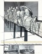 Christo And Jeanne-claude Wrapped Statues 1988 | Signed Screenprint | Gallart