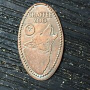 Chaffe Zoo Howling Wolf Smashed Pressed Elongated Penny P871