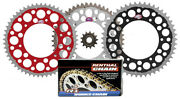 Renthal Grooved Front And Twinring Sprocket And R1 Works Chain Kit For Honda Crf450r