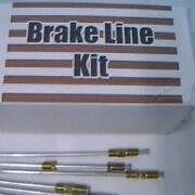 Complete Metal Brake Line Kit Falconcomet 1960 To 1976 -replace Rusted Lines