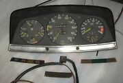 Mercedes Benz W123 Instrument Cluster Speedometer Rpm Cylind Sedan Wagon Coupe