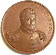 Canada Netherlands Us 1829 Nb / Me Arbitration Leroux 830 42mm Medal Inv 4394