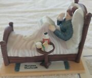 Danbury Mint-norman Rockwell The Cold Figurine.