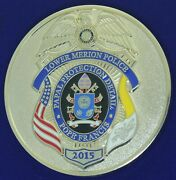 Lower Merion Police Papal Protection Detail Pope Francis 2015 Challenge Coin Kl