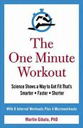 The One Minute Workout By Gibala Martin Book The Fast Free Shipping