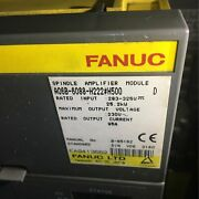 Used One Fanuc A06b-6088-h222h500 Spindle Amplifier A06b6088h222