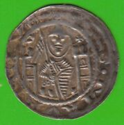 Magdeburg Brakteat 1142-1152 Friedrich I From Wettin In Xf Very Rarely