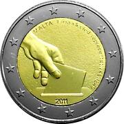 Malta Commemorative Coin Special Coins 2011 St 1849 Choice Der First Mp